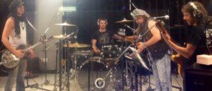 Eric Sardinas probando sonido en Vorterix