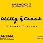 WILLY CROOK & FUNKY TORINOS en Makena