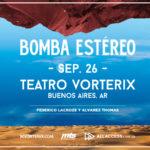 Bomba Estéreo en Buenos Aires
